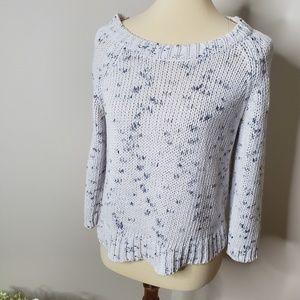 American Eagle knit sweater- L